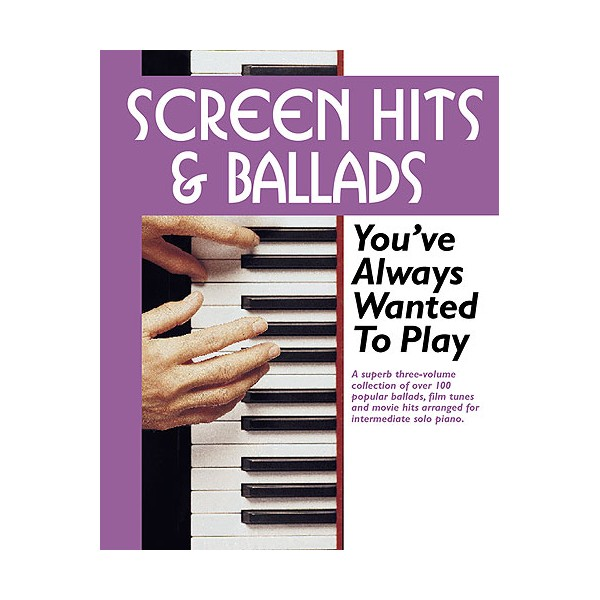 Screen Hits And Ballads Youve Always Wanted To Play (Slipcase Edition)