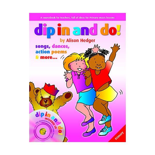 Alison Hedger: Dip In And Do! (Book/CD) - Hedger, Alison (Artist)