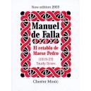 Manuel De Falla: El Retablo De Maese Pedro (Study Score) - De Falla, Manuel (Composer)