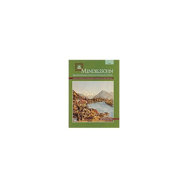 Paton, John Glenn (editor) - Mendelssohn -- 24 Songs - High Voice