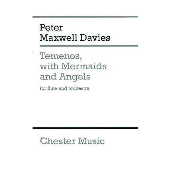 Peter Maxwell Davies: Temenos With Mermaids And Angels (Miniature Score) - Maxwell Davies, Peter (Composer)