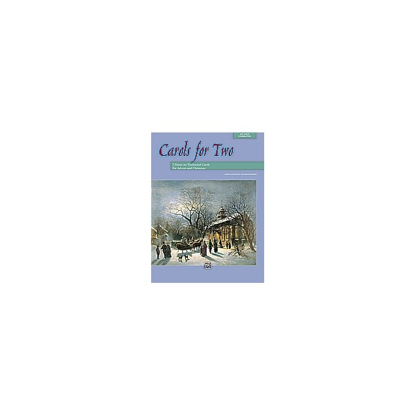 Shafferman, Jean Anne (ed) - Carols For Two - 7 Duets on Traditional Carols for Advent and Christmas