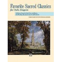 Liebergen, Patrick (ed.) - Favorite Sacred Classics For Solo Singers - Medium High Voice