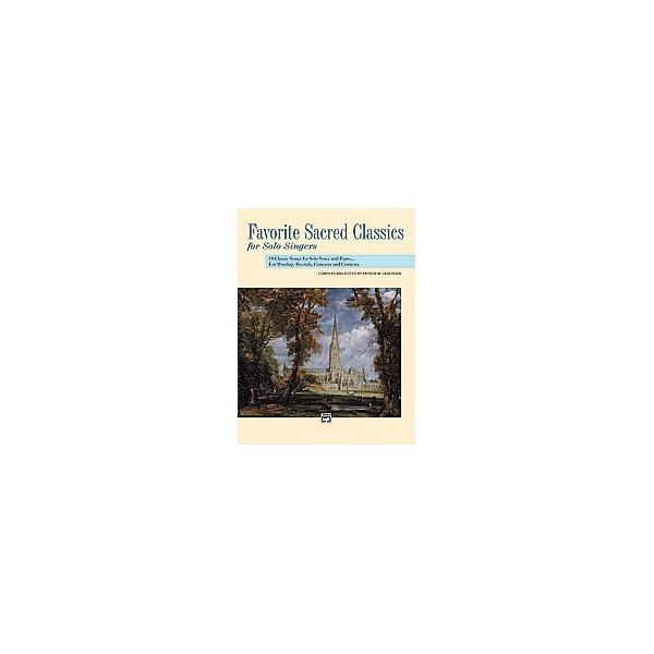 Liebergen, Patrick (ed.) - Favorite Sacred Classics For Solo Singers - Medium High Voice