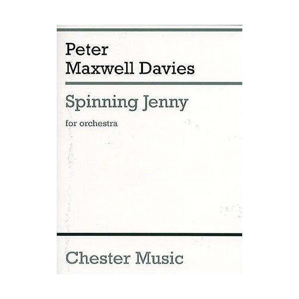 Peter Maxwell Davies: Spinning Jenny (Miniature Score) - Maxwell Davies, Peter (Composer)