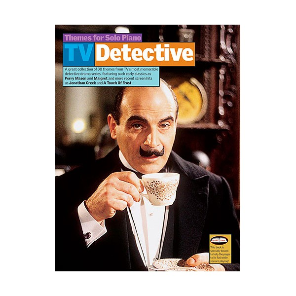 TV Themes For Solo Piano: Detective