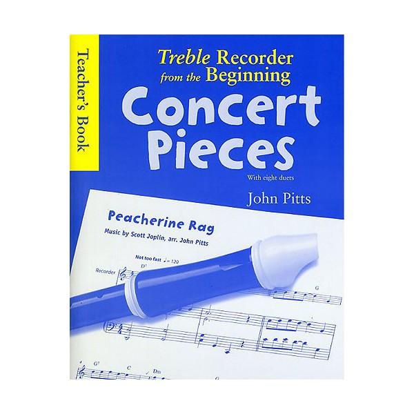 Treble Recorder From The Beginning - Concert Pieces (Teachers Book) - Pitts, John (Composer)