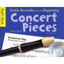 Treble Recorder From The Beginning - Concert Pieces (Pupils Book - CD Edition) - Pitts, John (Composer)