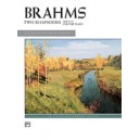 Brahms, Johannes - Two Rhapsodies, Op. 79 For The Piano
