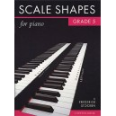 Frederick Stocken: Scale Shapes For Piano Grade 5 (Original Edition) - Stocken, Frederick (Author)