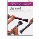 Threes A Crowd: Book 2 Clarinet - Power, James (Author)