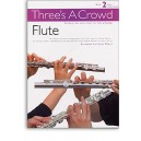 Threes A Crowd: Book 2 Flute - Power, James (Author)