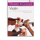 Threes A Crowd: Book 2 Violin - Power, James (Arr)