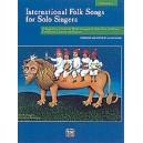 International Folk Songs For Solo Singers. ML Bk & CD