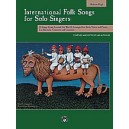 International Folk Songs For Solo Singers MH Book