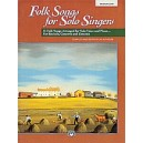 Folk Songs For Solo Singers - Medium Low Voice