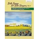 Folk Songs For Solo Singers - Medium High Voice