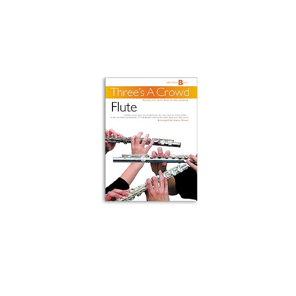 Threes A Crowd: Junior Book B Flute - Power, James (Author)