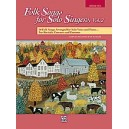 Folk Songs For Solo Singers 2 - Medium High.