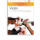 Threes A Crowd: Junior Book B Violin - Power, James