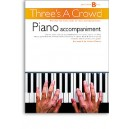Threes A Crowd: Junior Book B Piano Accompaniment - Power, James (Author)