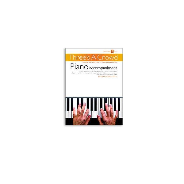 Threes A Crowd: Junior Book B Piano Accompaniment - Power, James (Author)