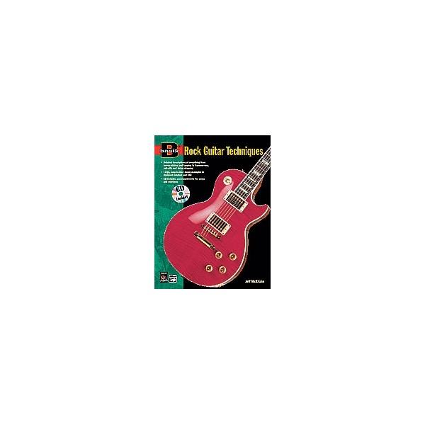 Mcerlain, Jeff - Basix Rock Guitar Techniques