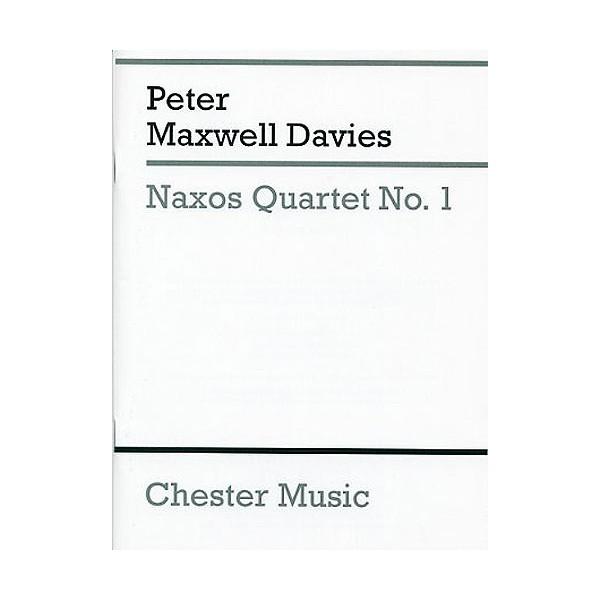 Peter Maxwell Davies: Naxos Quartet No.1 (Score) - Maxwell Davies, Peter (Composer)