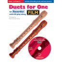 Film Duets For One: Recorder - Turner, Barrie Carson (Author)