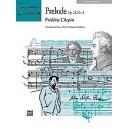 Chopin, F, arr. Goldston, M - Prelude, Op. 28, No. 4