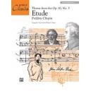 Chopin, F, arr. Palmer, W.A - Etude, Op. 10, No. 3 (theme)