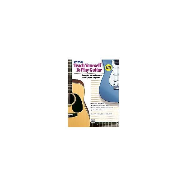 Manus, M,  - Alfreds Teach Yourself To Play Guitar