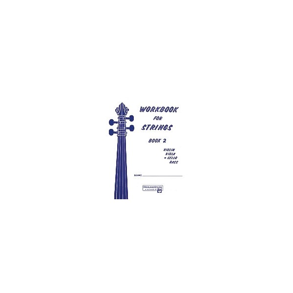 Workbook For Strings - Cello