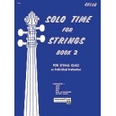 Solo Time For Strings - Cello