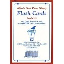 Alfreds Basic Piano Course Flash Cards - Levels 2 & 3