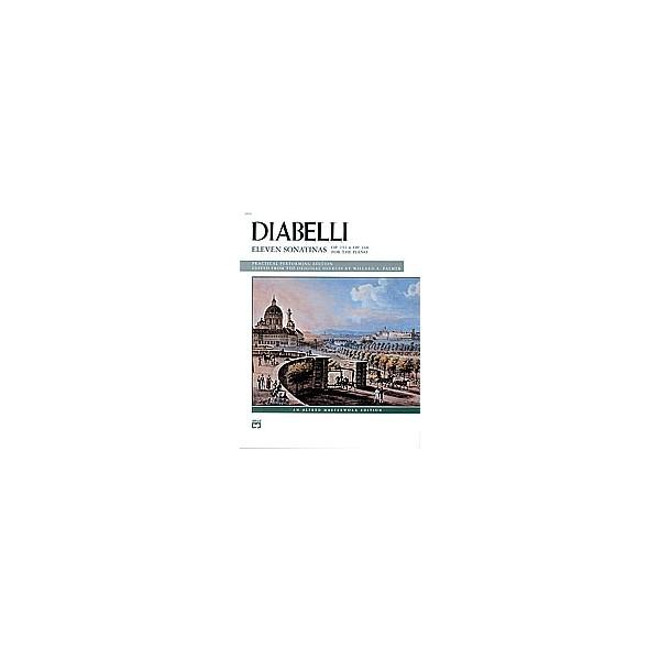 Diabelli, Anton - 11 Sonatinas, Opp. 151, 168