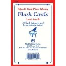 Alfreds Basic Piano Course Flash Cards - Levels 1A & 1B