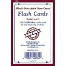 Alfreds Basic Adult Piano Course Flash Cards - Level 1
