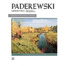Paderewski, Ignacy Jan - Menuet In G, Op. 14, No. 1