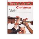 Threes A Crowd: Christmas Violin - Power, James (Author)