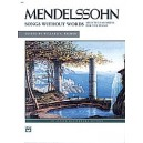 Mendelssohn, Felix - Mendelssohn -- Songs Without Words (selected Favorites)