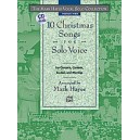 Hayes, Mark (arranger) - The Mark Hayes Vocal Solo Collection -- 10 Christmas Songs For Solo Voice - Medium High Voice