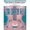 Foster, S, arr. Gruselle, C.L - Three Songs Of Stephen Foster