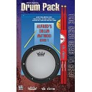 Feldstein, S,  - Alfreds Drum Method - Beginning Drum Pack (Book, Pad, & Sticks)