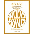 Alessandro Besozzi: Sonata In C For Oboe And Piano - Rothwell, Evelyn (Editor)