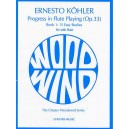 Kohler: Progress in Flute Playing Op.33 Book 1