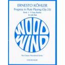 Kohler: Progress in Flute Playing Op.33 Book 1