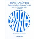 Kohler: Progress in Flute Playing Op.33 Book 2
