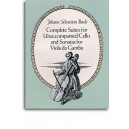 J.S. Bach: Complete Suites For Unaccompanied Cello And Sonatas For Viola da Gamba - Bach, Johann Sebastian (Composer)