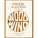 G.F. Handel: Air And Rondo For Oboe And Piano - Handel, George Frideric (Composer)